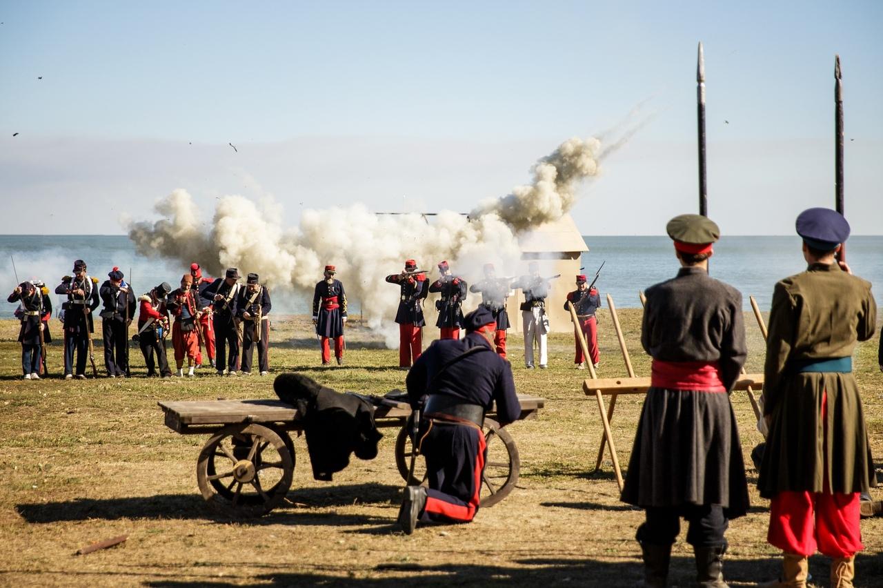 Исторический фестиваль «Оборона Таганрога» собрал больше 30 тысяч зрителей