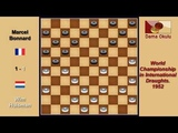 10 Wim Huisman NLD Marcel Bonnard FRA World Championship in International Draughts 1952