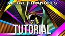 Metal Triangles After Effects Tutorial Background 5