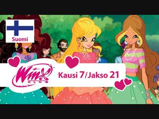Winx-klubi: Kausi 7, Jakso 21 - «Villiintynyt aurinkokello» (Suomi)