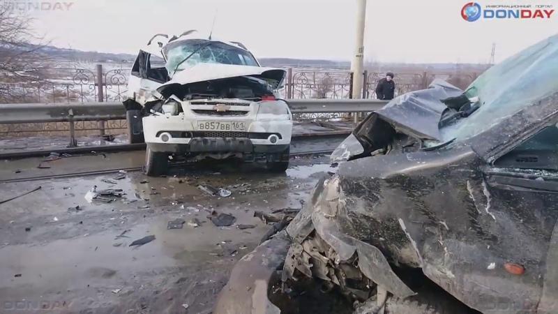 Donday. В Новочеркасске в серьезном ДТП на Герцена пострадали три человека
