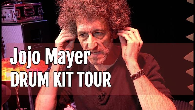 Jojo Mayers Nerve 2018 European Tour drum kit