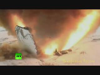RT первым публикует видео испытания «Авангарда»