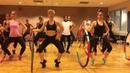"DERNIERE DANSE"" Indila Dance Fitness Workout Ballet Barre With Hula Hoops Valeo Club"