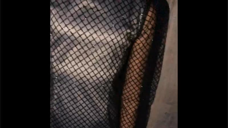 Платье с глитером