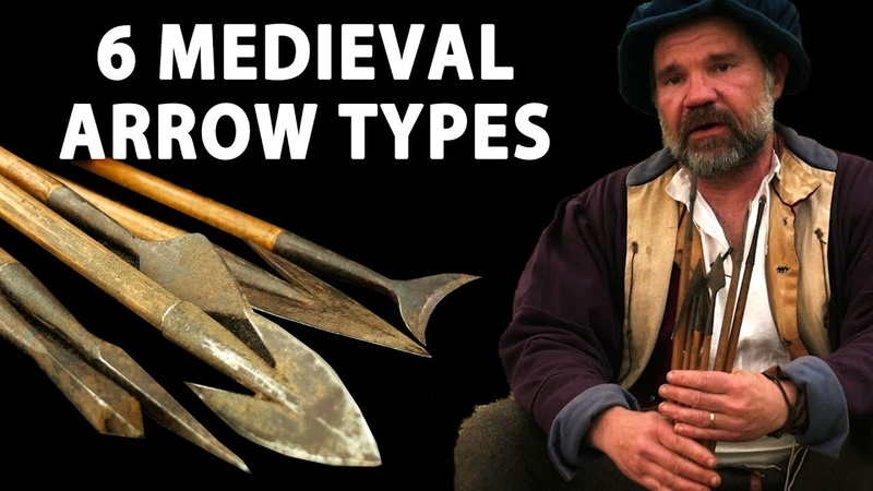 Six Medieval Arrow Types - What are they for