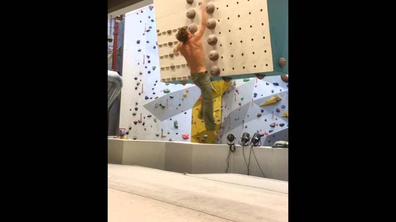 Climbing gym training
