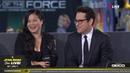 J J Abrams Kelly Marie Tran At SWCC 2019 The Star Wars Show Live