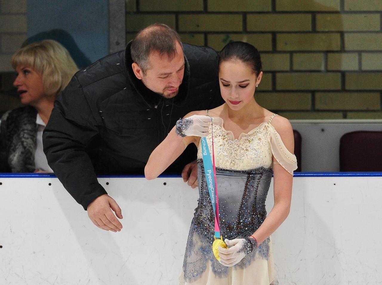Алина Ильназовна Загитова-2 | Олимпийская чемпионка - Страница 5 Y0C3HIpCvI8