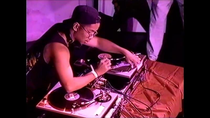 DJ Ruthless vs D Styles 1993 KMEL Def Jam Elimination Battle