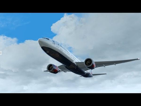 Замес на Мальдивах. Boeing 777-200LR PMDG