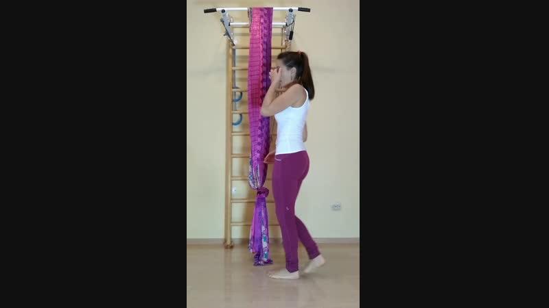 Домашний гамак вытяжение спины