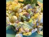 Салат с тунцом и пекинской капусты - «Нежность»