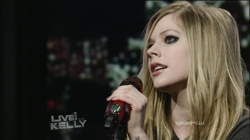 Avril Lavigne │ Random ROCK Live Performances