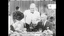 1940s Fancy Restaurant Service, Waiters, Wine, USA, HD