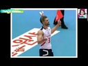 Men's Volleyball Player dance TWICE LIKEY in competition