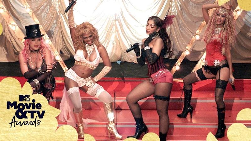 Christina Aguilera, Lil' Kim, Mya P!nk Perform Lady Marmalade   MTV