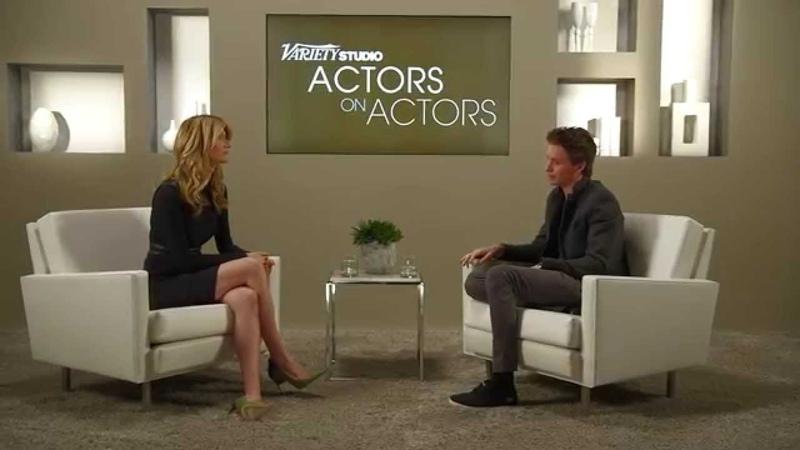 Laura Dern Eddie Redmayne at the Variety Studio Actors on Actors presented by Samsung Galaxy