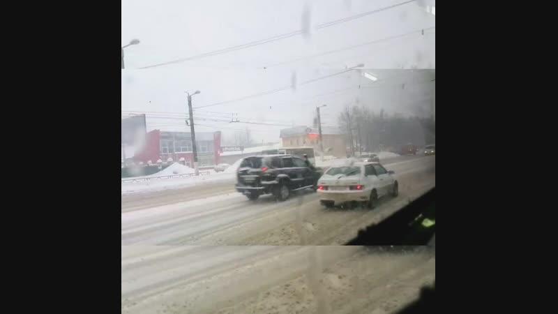 Снегопад. Киров 19.01.2019 г.