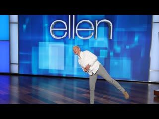 Wanna know if ellen washes her legs here you go?