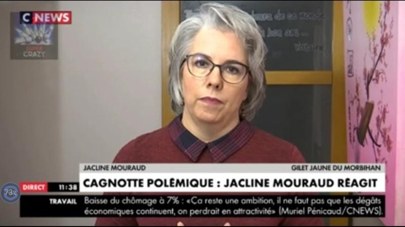 Jacqueline Mouraud contre la cagnotte ! Largent du peuple volé .Gilets jaunes choc. Honte à elle .
