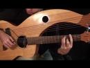 Hotel California Eagles Harp Guitar Cover Jamie Dupuis