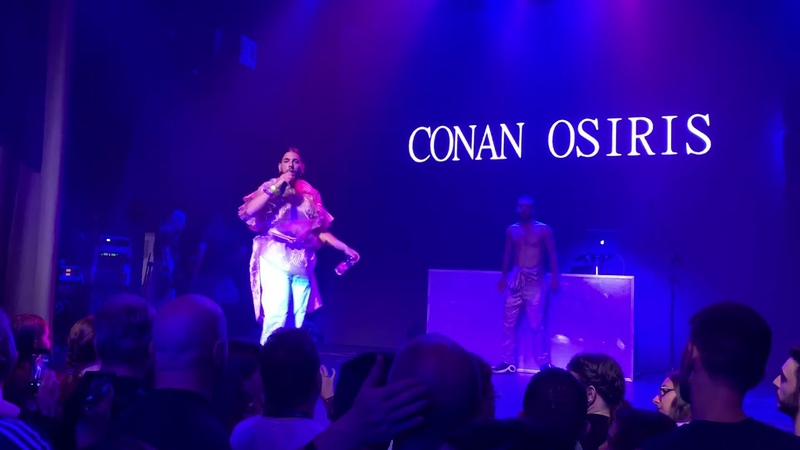 Conan Osiris Telemóveis Portugal 🇵🇹 live in Wiwi Jam party Eurovision 2019