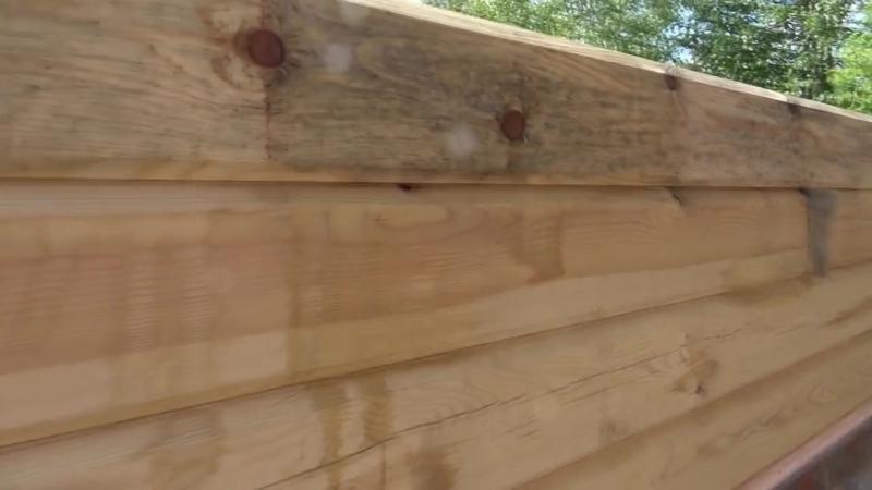 Как отбелить древесину Иней vs Белизна Дом из бруса своими руками How to blea