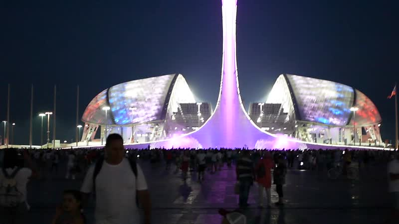 Sochi. Сочи, Олимпийский парк. Фонтан. сочи