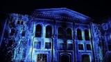 Wedding 3D mapping Zhavoronki Castle