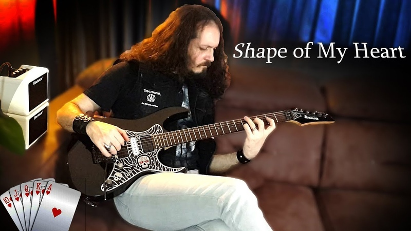 Sting - Shape of My Heart on Electric Guitar | Cover | İBRAHİM BİRDAL