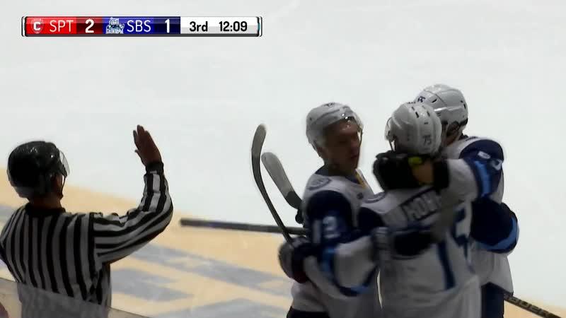 Спутник Сибирские Снайперы Чемпионат МХЛ 18 19 17 11 18 все голы матча