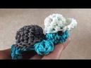 Rainbow Loom Nederlands, Schildpadje turtle Amigurumi, Deel 2, English subtitles