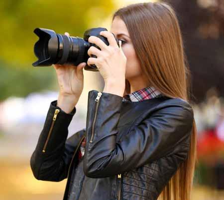 Фотографы обычно имеют различные объективы для съемки различных фотографий, например, портреты, которые часто снимаются с помощью телеобъективов.