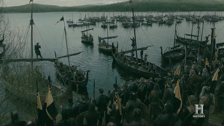 Викинги / Vikings 5 Сезон 18 Серия из 20 / Жанр: боевик, драма, мелодрама, военный, история