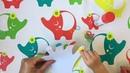 Развивающие видео и игры для детей - Игры по методике Монтессори - Сортировка - Колечки на пальчики