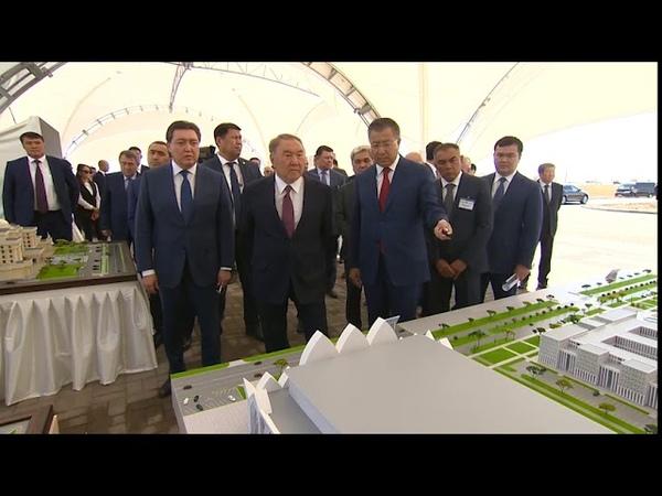 Елбасының Түркістан облысына сапары