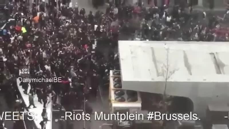 Neue Phänomene in Europa Schwarmintelligenz Araber stürmen Weihnachtsmarkt in Belgien 2017