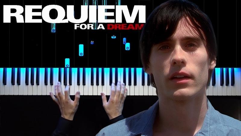 Requiem for a dream | Piano tutorial | How to play | Sheets