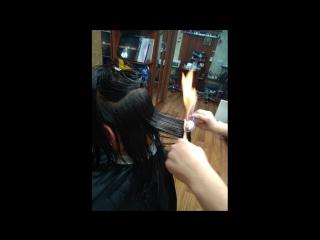 Женские стрижки и укладки волос.