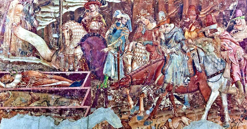 Фреска с Каструччо Кастракане