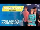 2019 Интервью для портала «Warner Channel Brasil» в рамках фестиваля «Comic-Con» 20 июля