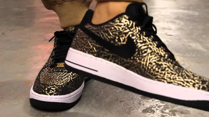 Кроссовки для школьников Nike SF Air Force 1 Mid Черные