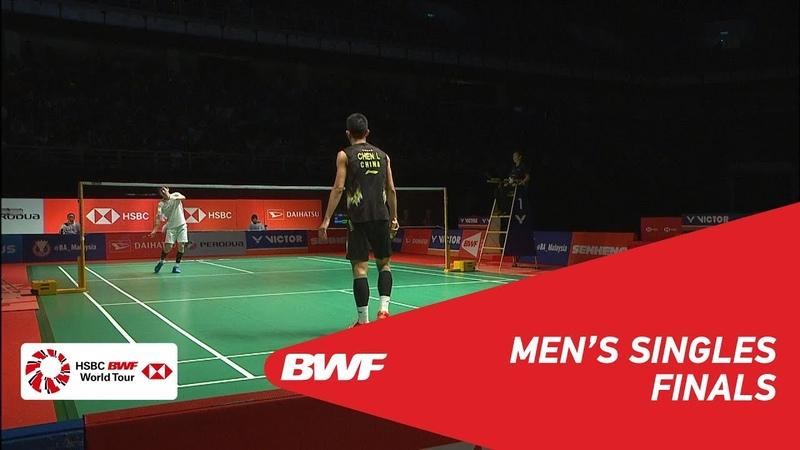 F | MS | CHEN Long (CHN) [3] vs SON Wan Ho (KOR) [4] | BWF 2019