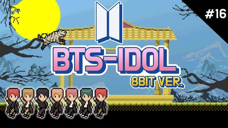 IDOL 8Bit (아이돌 8비트) - BTS (방탄소년단) JHN STUDIO(정스)
