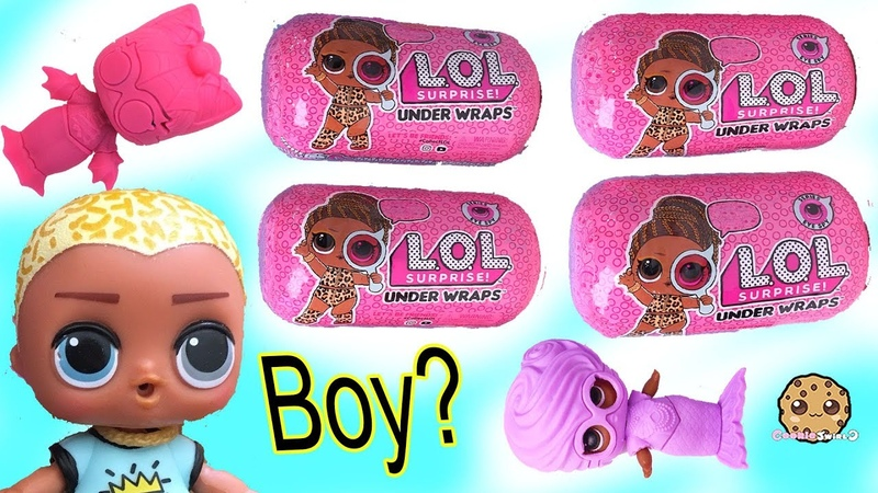 Big Brother or Sisters LOL Surprise Under Wraps Eye Spy Blind Bags Toy Video