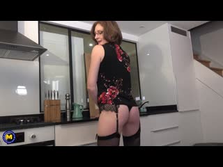 Horny french mature lady loves getting an anal fuck hard and long - http://www.vidz78.com