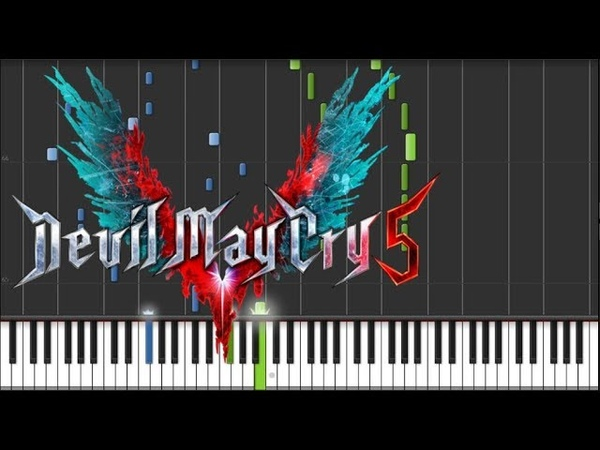 Devil May Cry 5 OST Devil Trigger / Nero's Battle Theme Piano Synthesia