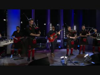 So the Red Hot Chilli Pipers lads and I have released the bagpipe version of #LeaveALightOn…