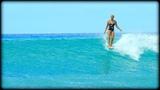 Waikiki Surfing Queens Surf Break, Honolulu Hawaii 30 September 2018
